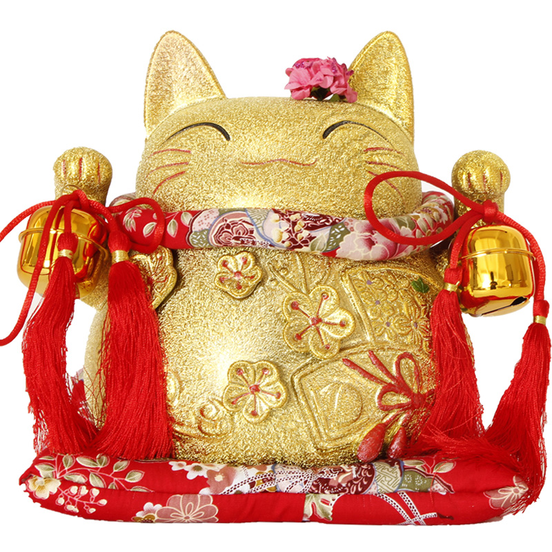 Japanese lucky cat lucky cat ornaments large opening ceramic golden gift valentine gifts lucky cat piggy bank piggy bank