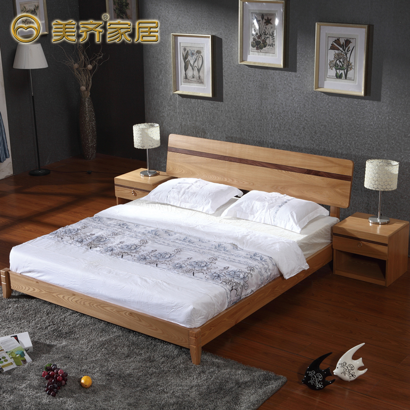 get quotations    jean minimalist modern chinese wood bed single double 1 5 1 8 m futon elm wood bedroom china futon bed wood china futon bed wood shopping guide at      rh   guide alibaba
