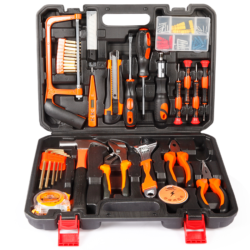 Jebshun hundred different household tool kit hardware combination toolbox wooden work multifunction electrician repair kit set