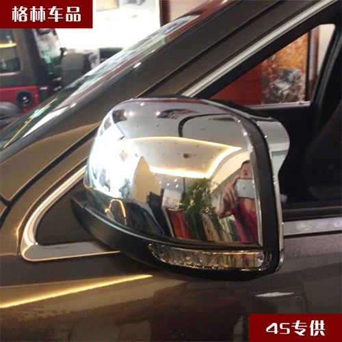 Jeep grand cherokee jeep grand cherokee modification dedicated rearview mirror cover plating rain gear rain eyebrow