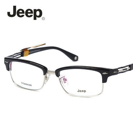 Jeep jeep authentic glasses myopia frame glasses frame optical frame glasses frame titanium glasses full frame T8090