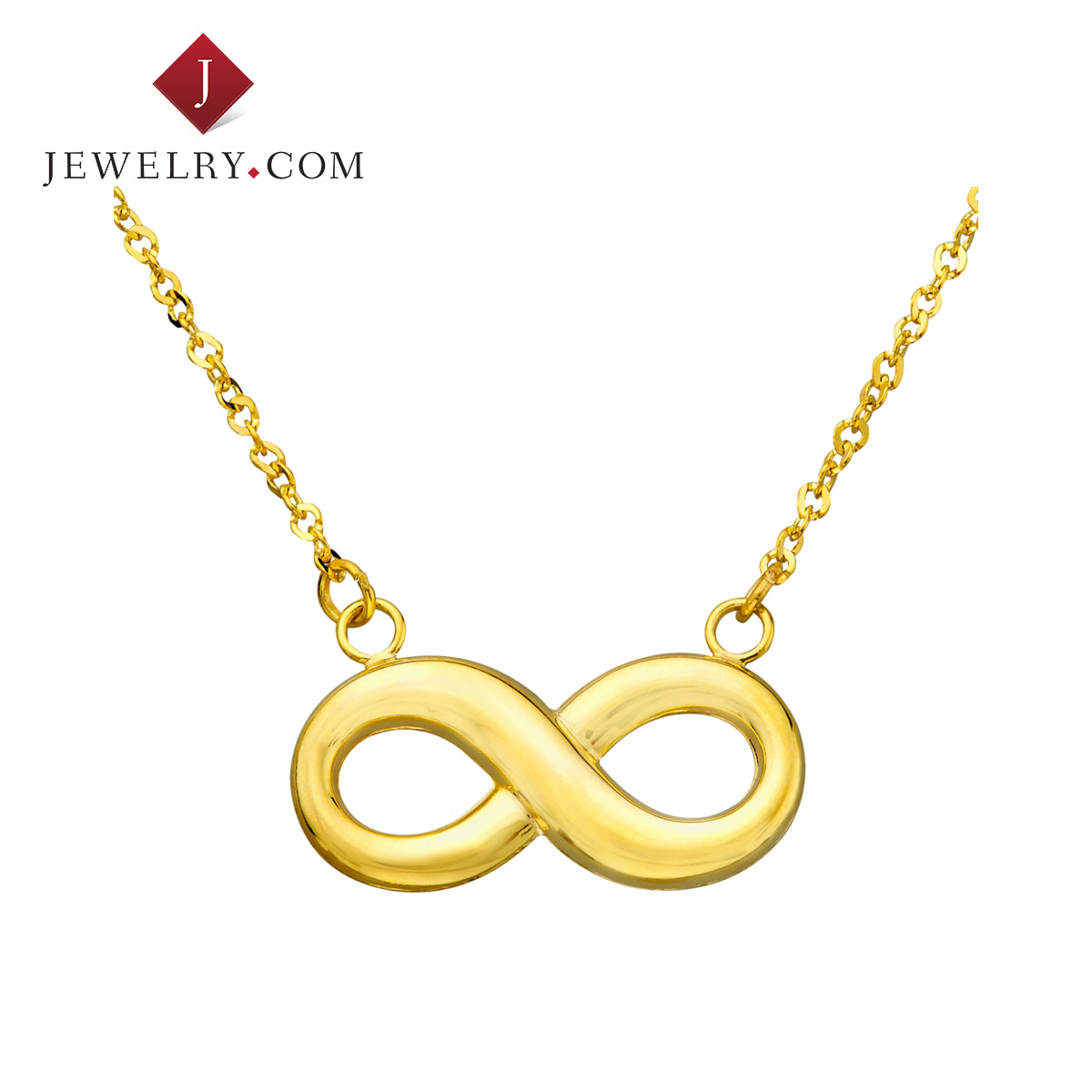 Get Quotations Jewelry Official K Gold Infinity Symbol Pendant Exquisite European And American Minimalist Fashion