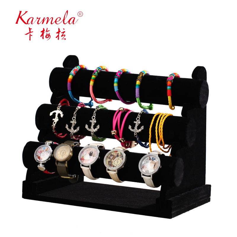Jewelry holder jewelry display rack bracelet bracelet hair band headband hairpin hair ring jewelry display props storage watches