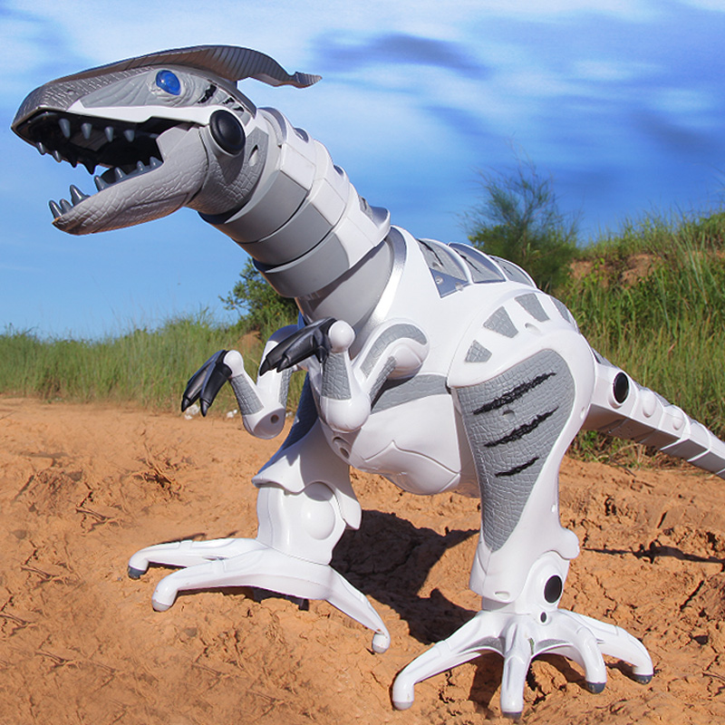 Jia qi electric dinosaur toy intelligent dialogue remote control robot dinosaur model electric remote control animal toys for children