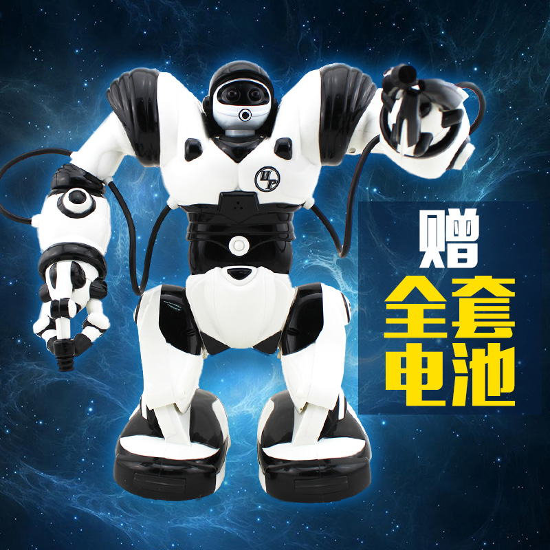 Jia qi intelligent robot toys charging 3 generations tt323 robben ait dialogue remote control robot toys for children