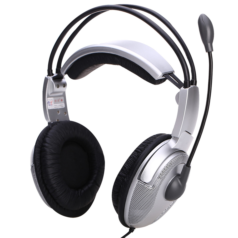 Jiahe USB-820MV interface gaming headset computer headset with microphone headset wheat desktop generic big ears