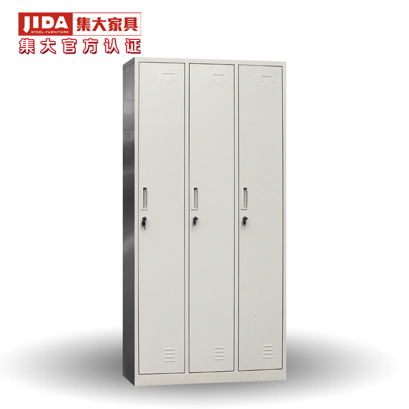 Jida set large explosion models cheap LGY315/LGY315H three more wardrobe cabinet lockers staff iron sale