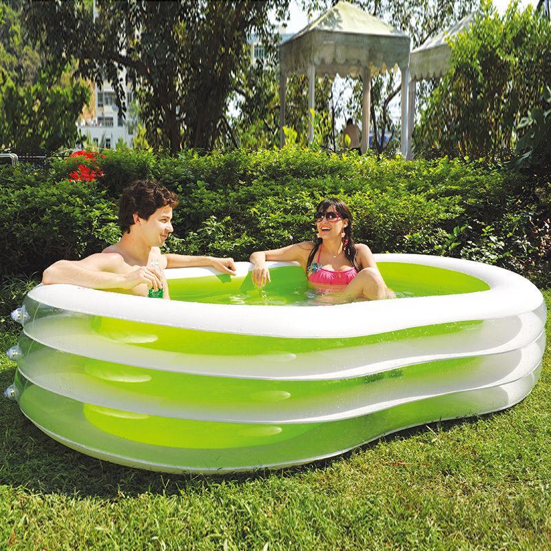 Jilong inflatable family pool thicker insulation oversized adult large swimming pool for children 8 font