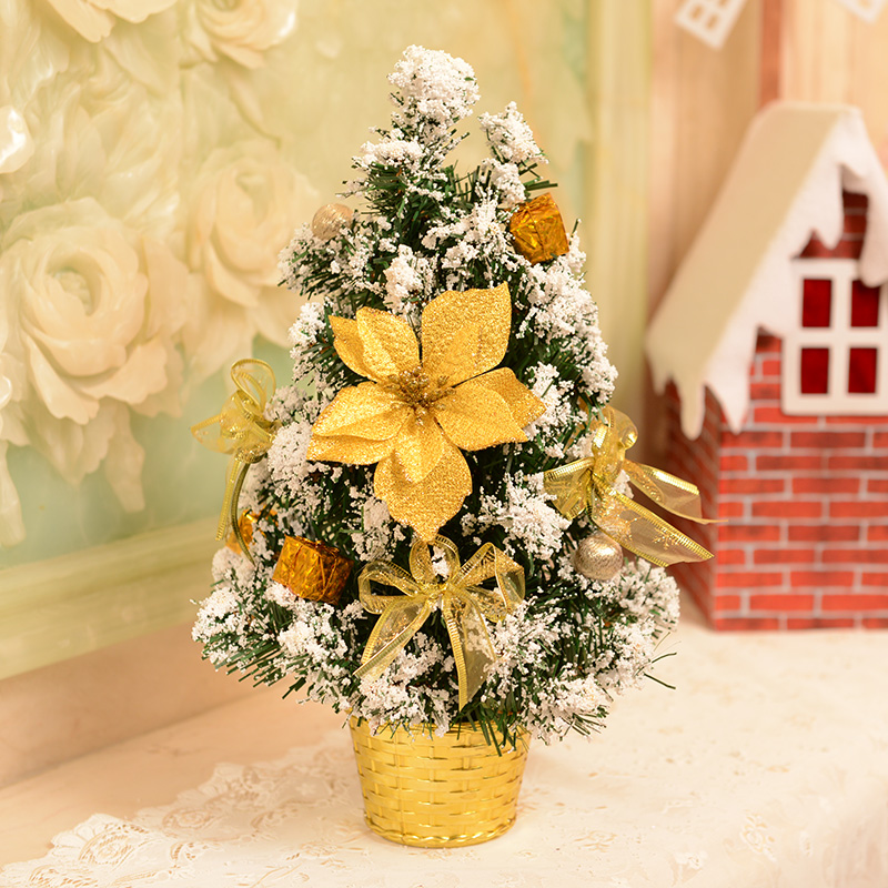 Jin ye small mini christmas tree christmas tree package christmas decorations christmas decorations desktop decoration