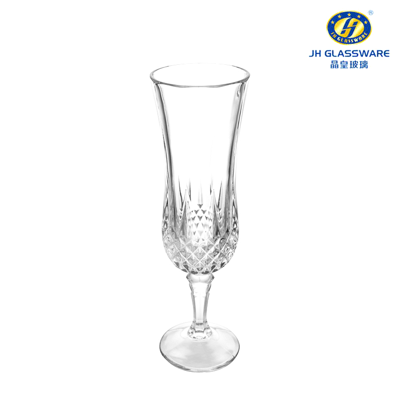 Jing huang european crystal glass tall wine glass of champagne cup fashion cup sweet wine 6 loaded