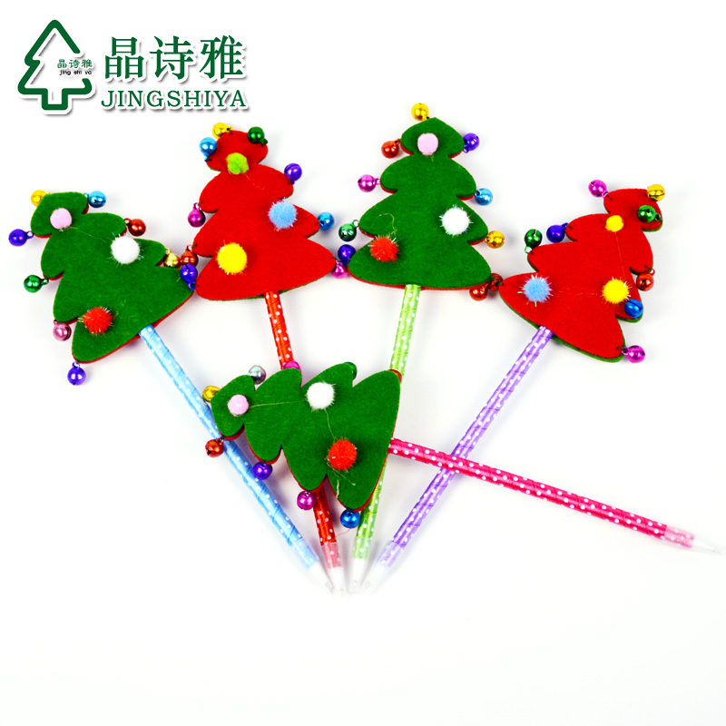 Jing shi ya christmas gifts christmas decorations christmas ballpoint pen gift ideas for children school supplies