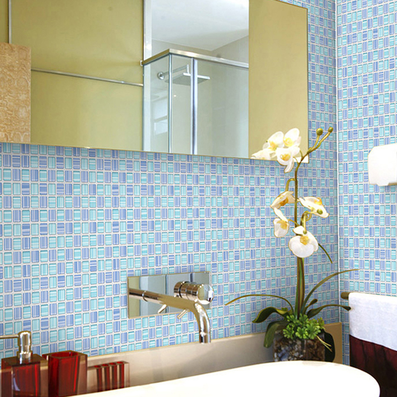 Jingyi/korea mosaic bathroom tile bathroom wall stickers waterproof stickers affixed stickers refurbished kitchen hpc-1324
