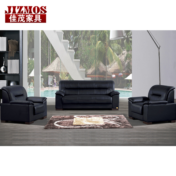 Jizmos shanghai office furniture office sofa leather office sofa sofa table combination of simple and stylish