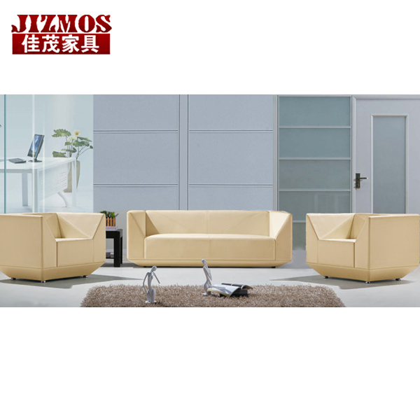 Jizmos shanghai office furniture office sofa parlor sofa sofa table combination of simple modern business