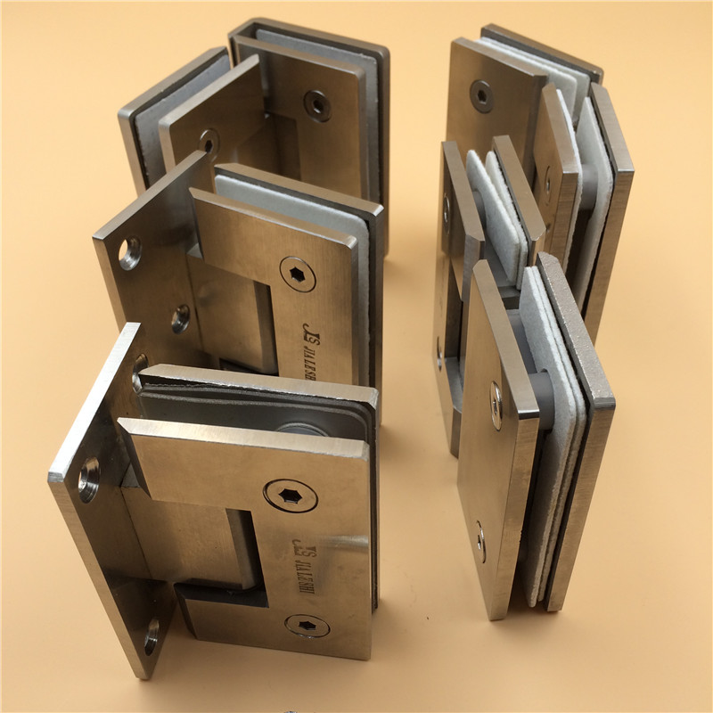 Jls thick stainless steel glass door hinge stainless steel shower glass door hinge hydraulic hinge hinge glass door hinge clip
