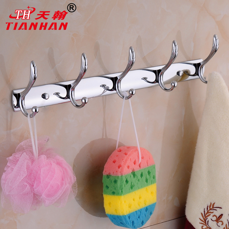 John day chromeplating european bathroom wall hook coat hook coat hooks row hook bathroom yigou pteris 002 authentic