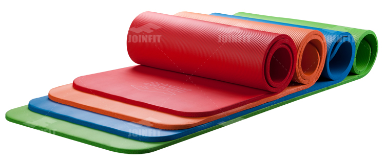 Joinfit 13.358kj 5CM thick exercise mat yoga mat pilates mat fitness mat increasingly slip high elastic movement