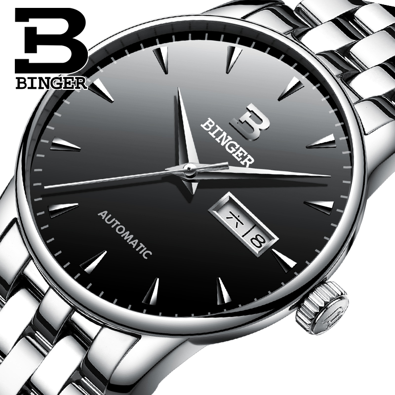 Jordan chan genuine binger accusative hollow automatic mechanical watches men watches men watch men watch waterproof watch men