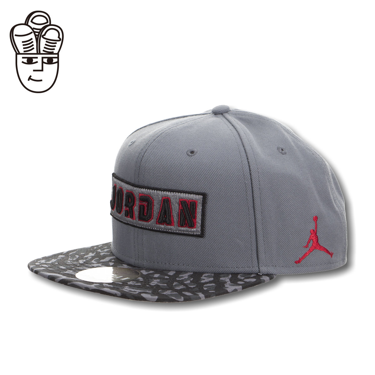 Jordan jumpman aj fashion camo snapback baseball cap flat brimmed hat leisure hat
