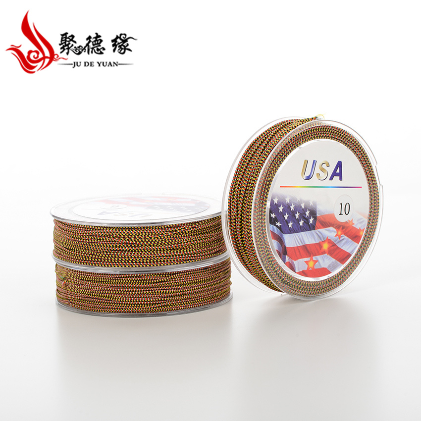 Jude edge-the united states imported 5 color cotton multicolored beads bracelet elastic cord elastic cord elastic cord cored wire
