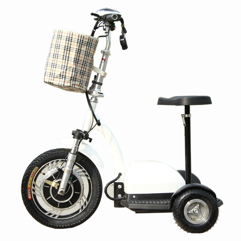 Junjie electric small electric scooters mini folding electric car electric tricycle elderly scooter patrol car