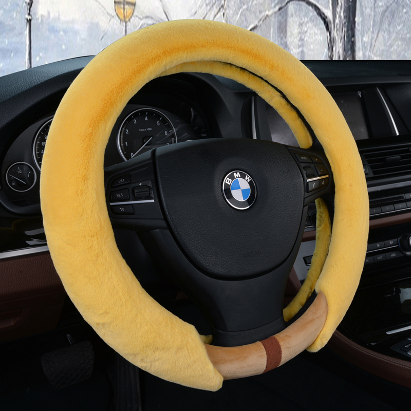 Kai yue feng yu suzuki tianyu sx4 swift shangyue liana a6 paul warm winter plush car steering wheel cover