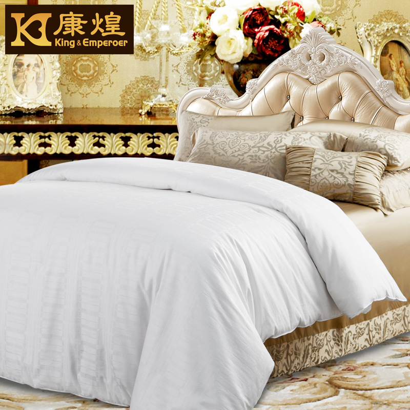 Kang huang genuine silk is 100% mulberry silk is conditioned by cotton custom silkworm sixia is 1.5 kg