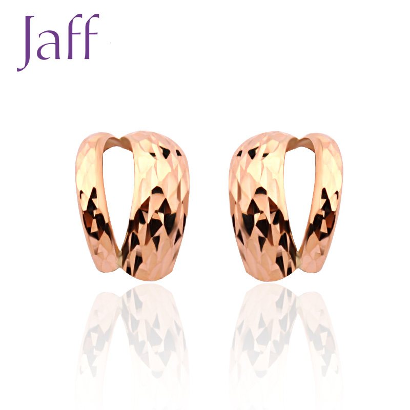 Katsuo jaff KED047 k gold earrings female models earrings jewelry earrings series national mail