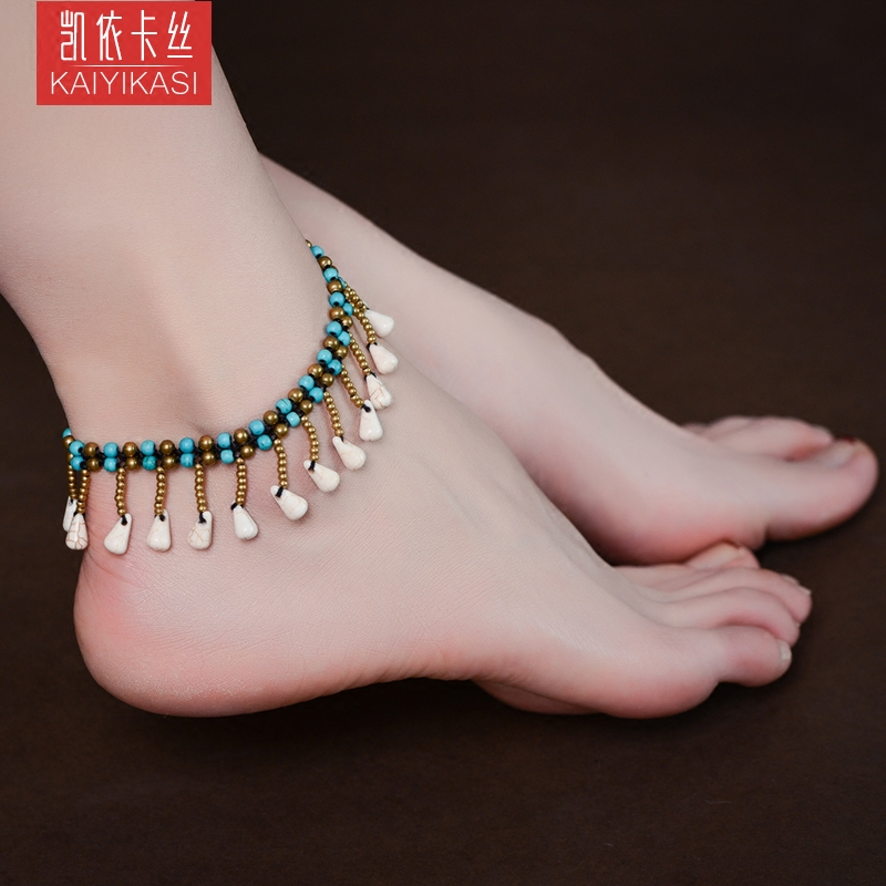 fashion five online jewelry shop anklet bells silver fak shopping female