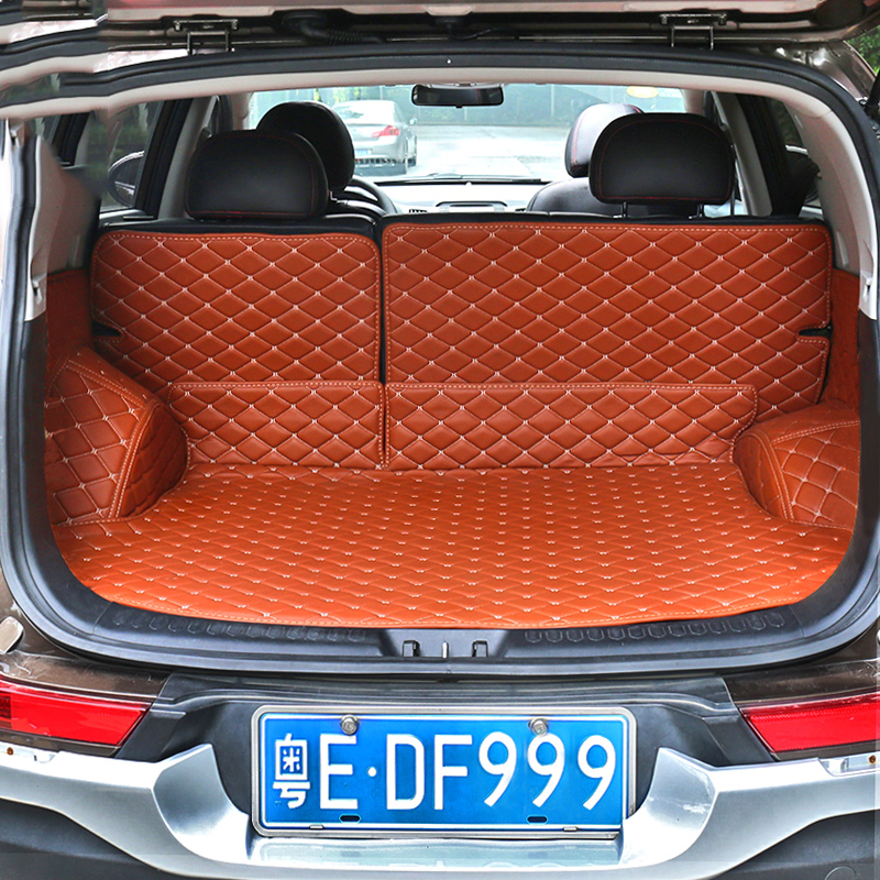 Kia sportage trunk mat surrounded by the whole car trunk mat sportage sportage decorative interior conversion dedicated car Commodities