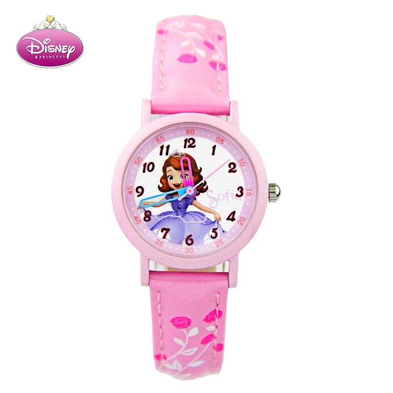 Kids cute cartoon girl child watches waterproof watch students watch quartz watch female child female students watch children watch