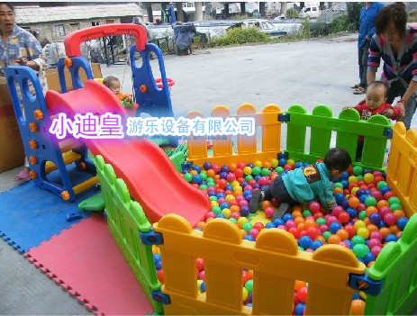 Kindergarten children's ball pool slide combination indoor children's playground slide children slide slide home slide