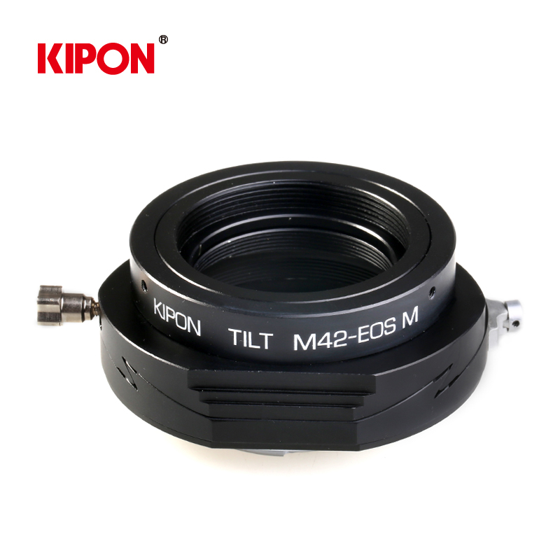 Kipon shift m42 screw mount lens adapter canon eos m micro single body tilt m42-eos m adapter ring