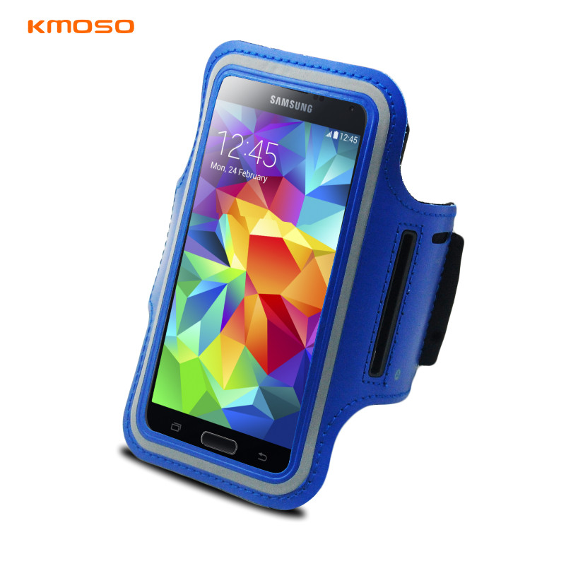 Kmoso samsung galaxy s3 s4 s5 special protective sleeve arm package mobile phone arm band running sports waterproof