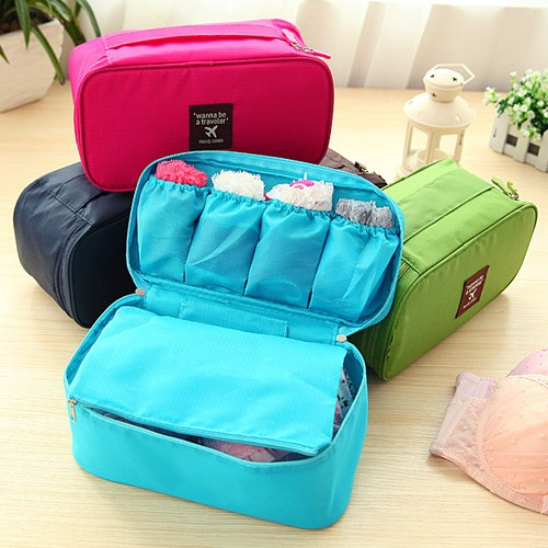Korea waterproof travel bag sorting clothes storage bag bra underwear storage box storage bag finishing shipping