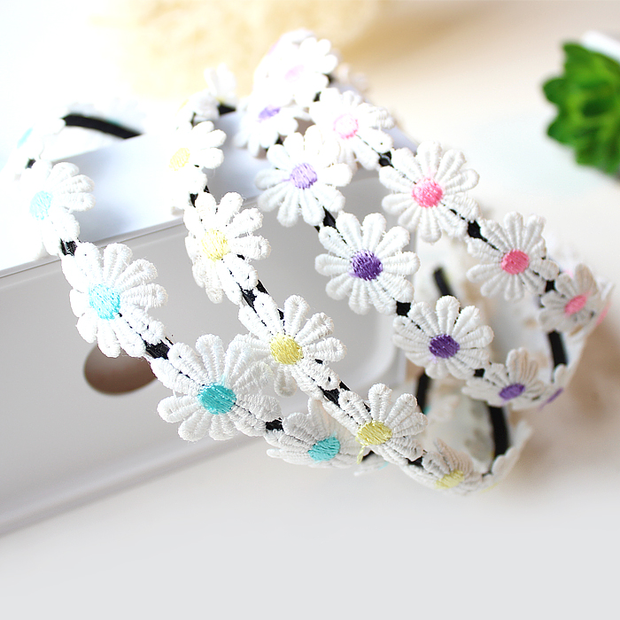 Korea with money to the japanese residential property wreath headdress korean daisy flower hair band hair bands hair accessories hair day