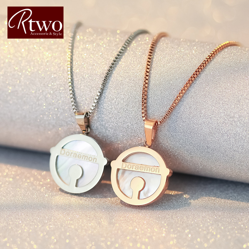Korean version of a dream ktwo necklace fashion necklace female korean sweater long section of female models jewelry necklace accessories