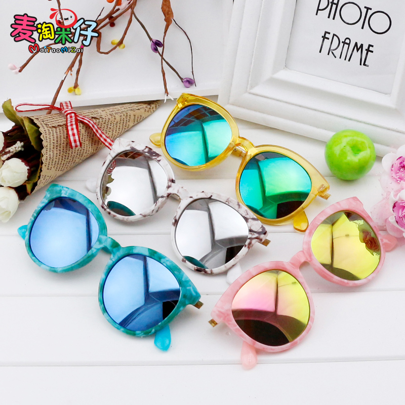 Korean version of the children polariscope cute sunglasses sunglasses female personality influx of girls big boy fashion uv protective eyewear