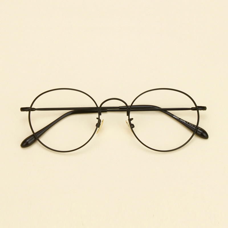 198b766bc44 Get Quotations · Korean version of the influx of retro round glasses male  and female models 2207 round frame