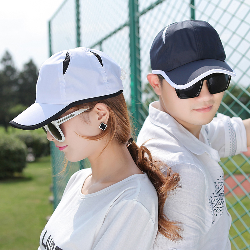 Korean version of the influx of summer hats for men and women casual outdoor mesh cap baseball cap summer sun hat sun hat sugan
