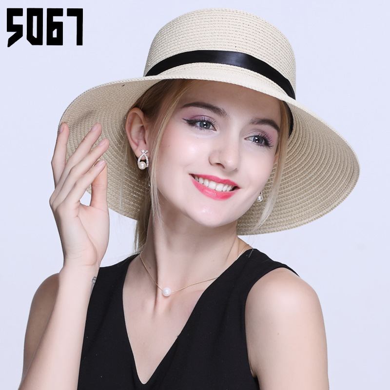 e27c8b981e8 Get Quotations · Korean women summer hats sun hat and her daughter  paternity paragraph summer hat straw hat sun