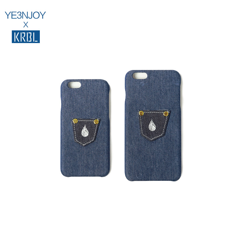 Krbl house YE3ENJOY joint original tide brand iphone6/plus phone shell mobile phone shell sets KYBC01