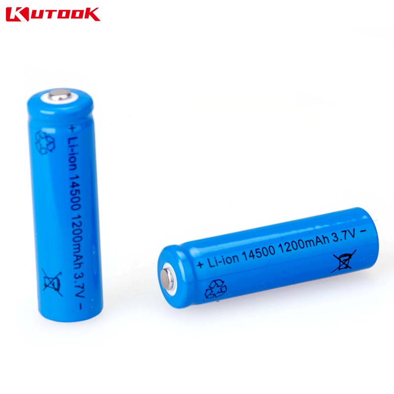 Kutoo riding flashlight rechargeable bike lights battery battery battery capacity battery 18650