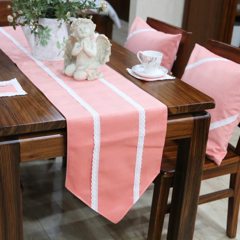 Get Quotations · Lace Fabric Table Cloth Tablecloth Table Runner Coaster  Coaster Suit European Coffee Table Cloth Table Flag