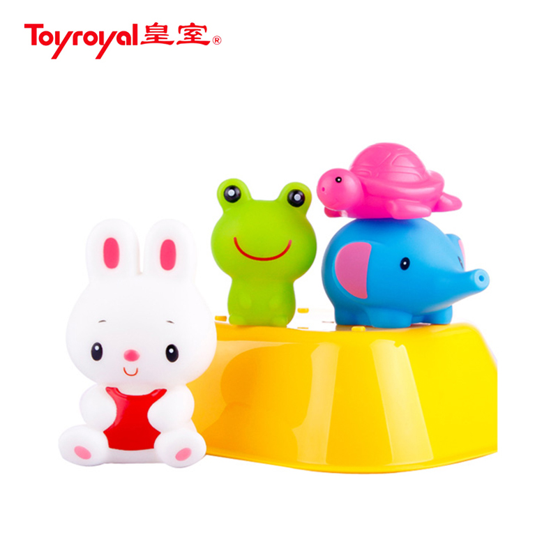 Lai family toyroyal japanese imperial family toy happy baby infant children playing in the water toys