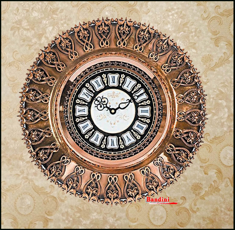 Lai sheng european creative pastoral wall clock mute wall clock fashion living room wall clock quartz wall clock antique wall clock