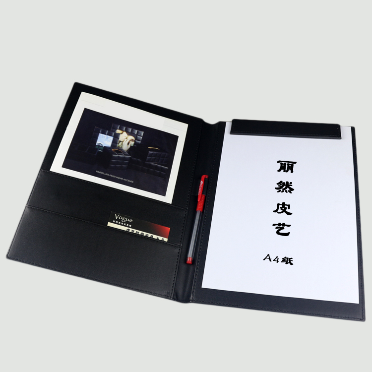 Lai then contracts for the sale of leather multifunction a4 folder folder office gift ideas can be customized
