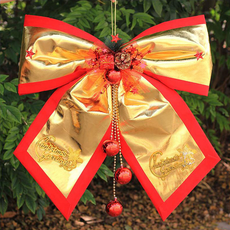 Large bow christmas decorations christmas decorations christmas scene christmas tree ornaments christmas fabric bow