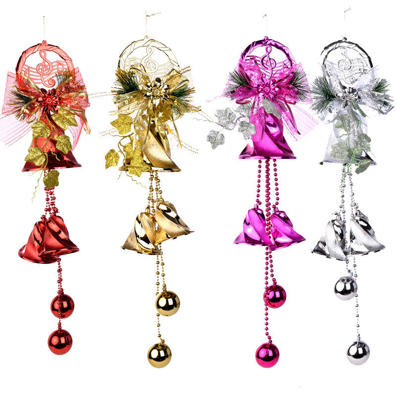get quotations large christmas decorations christmas bells christmas bells double longzhong door hanging christmas tree ornaments hanging