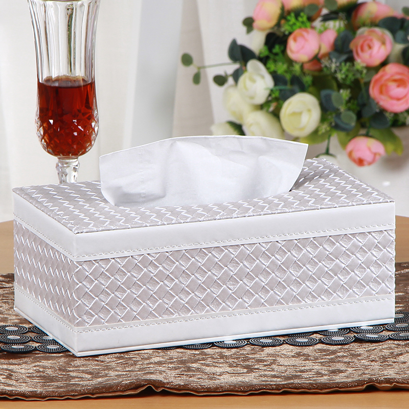 Large european creative home tissue box tissue box napkin box pumping tray leather contadino paper drawn box tissue box car with a wooden